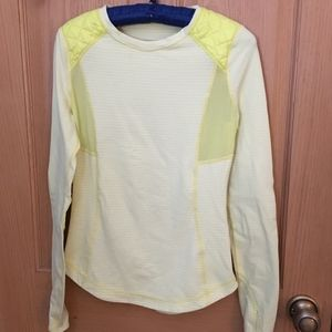 Lululemon Ice Queen Long Sleeve  Clarity Yellow 4